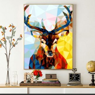 Colouful Deer | Paint by Numbers