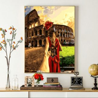 Love in Rome | Paint by Numbers