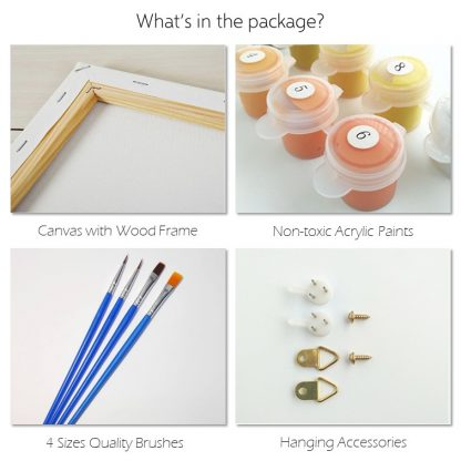 What is in the Kits of Metime Art