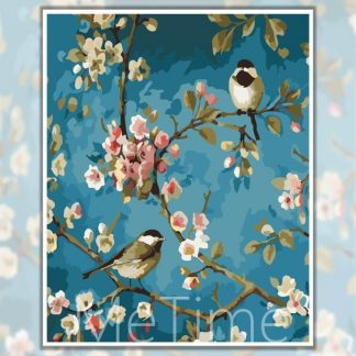 Birds and Flowers | Painting by Numbers Malaysia