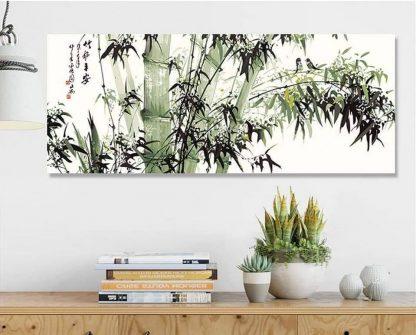 Bamboo bring peace