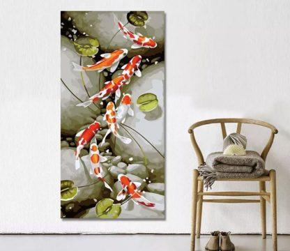 Nine Koi Fishes 2