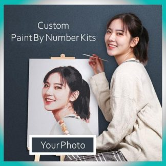 Metime Art Customized Painting By Numbers Kit