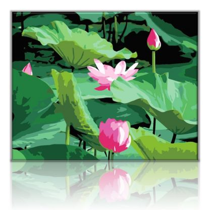 Lotus Flowers | Paint by numbers Malaysia