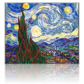 Starry Night Van Gogh | Paint by numbers Malaysia