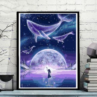 Whales and Girl
