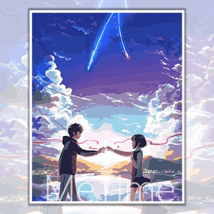 Starry sky couple