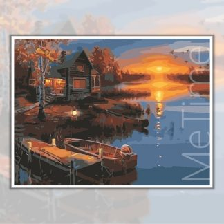 Sunset at River Edge