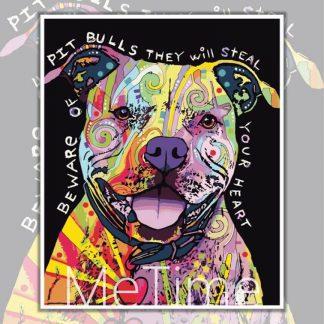 Beware of Pit Bull Dog
