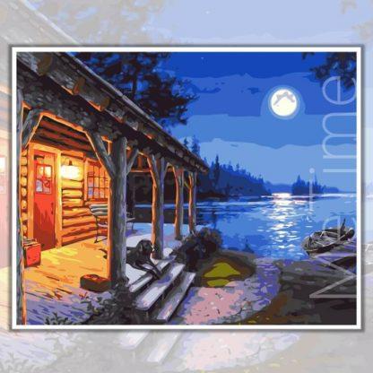 Lakeside Moonlight