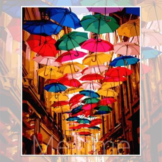 Timisoara Umbrella Street Romania