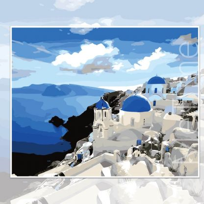 Charming Santorini