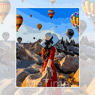 Follow Me to Hot Air Balloons in Turkey